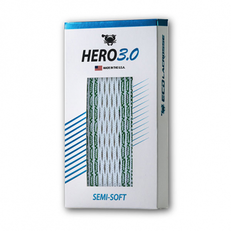 ECD Lacrosse Hero 3.0 Semi-Soft Striker Mesh
