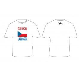 tričko CZECH LACROSSE
